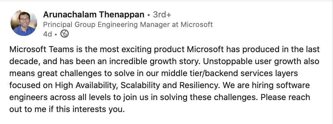 """""""... challenges to solve in our middle tier/backend services layers ..."""""""